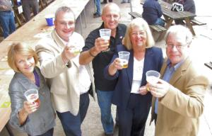 Raising a toast to local food