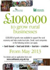 Launch of £100,000 fund for rural businesses